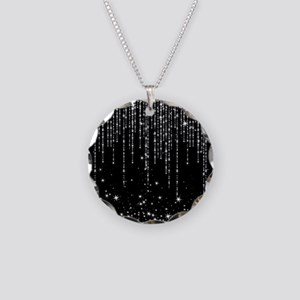 STAR SHOWER Necklace Circle Charm