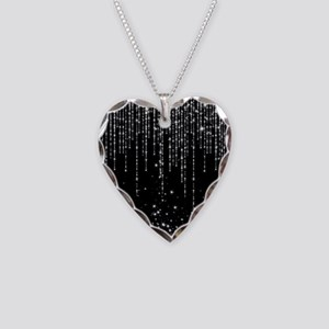STAR SHOWER Necklace Heart Charm