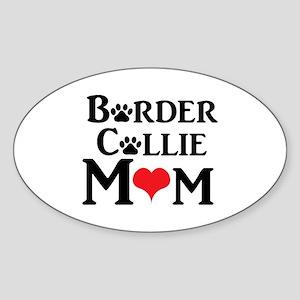 Border Collie Mom Sticker