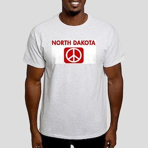 NORTH DAKOTA for peace Light T-Shirt