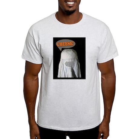 """Say """"Cheese!"""" Ash Grey T-Shirt"""