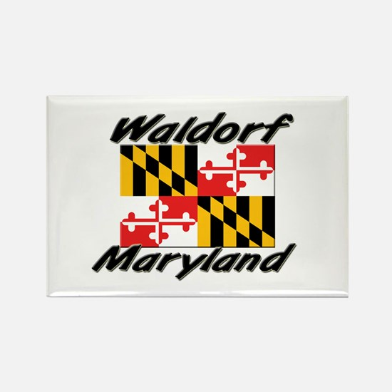 Waldorf Maryland Rectangle Magnet