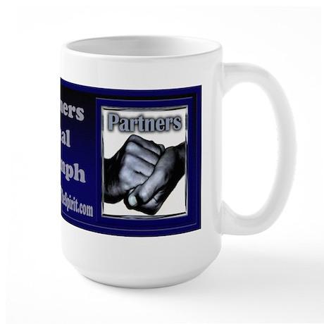 Partners-Triumph of the Spirit Large Mug