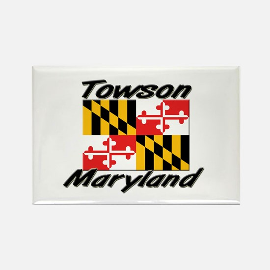 Towson Maryland Rectangle Magnet
