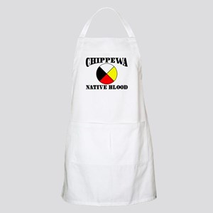 Chippewa Native Blood BBQ Apron