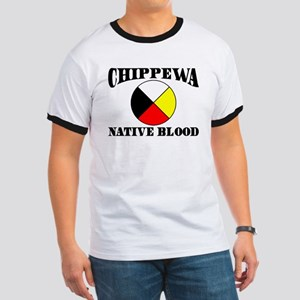 Chippewa Native Blood Ringer T