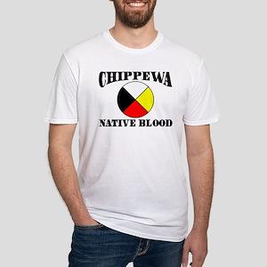 Chippewa Native Blood Fitted T-Shirt