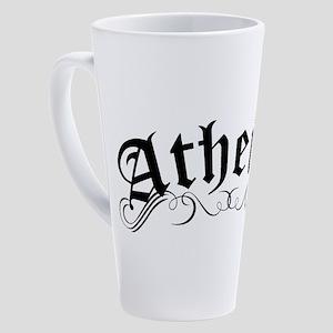 Atheist 17 oz Latte Mug