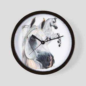 Grey Arabian Wall Clock