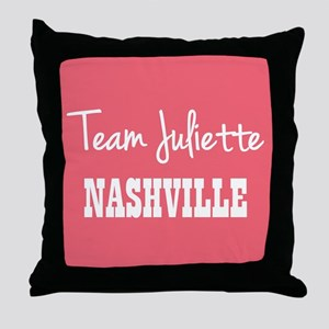 TEAM JULIETTE Throw Pillow