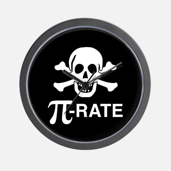 Pi-Rate Wall Clock