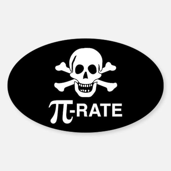 Pi-Rate Sticker (Oval)
