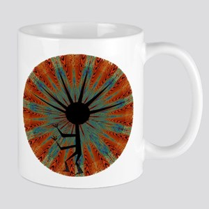 Spiral Kokopelli Mug