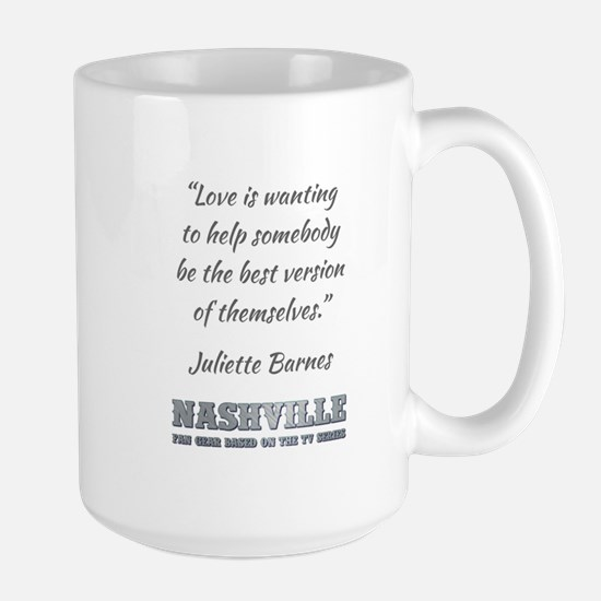 LOVE IS... Large Mug