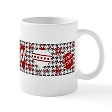 A Houndstooth Christmas Mugs