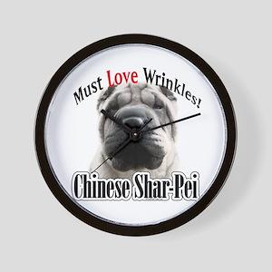 Shar MustLove Wall Clock