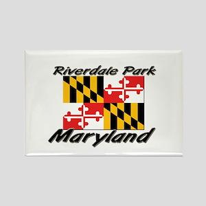 Riverdale Park Maryland Rectangle Magnet