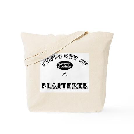 Property of a Plasterer Tote Bag