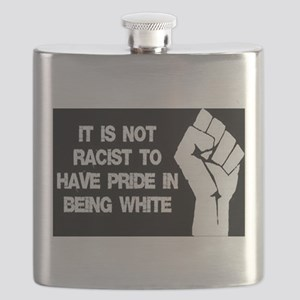 Not racist being white Flask