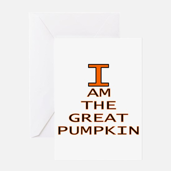 I am the Great Pumpkin Greeting Card