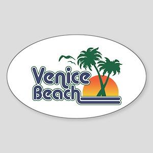 Venice Beach Sticker (Oval)