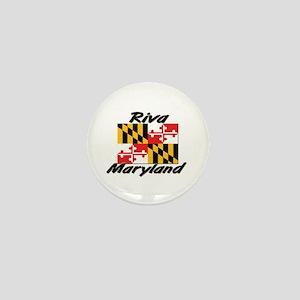 Riva Maryland Mini Button