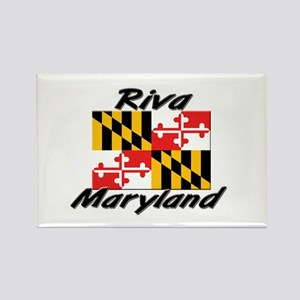 Riva Maryland Rectangle Magnet