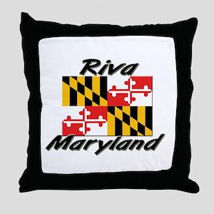 Riva Maryland Throw Pillow