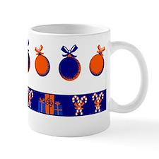 It's A Orange And Blue Christmas! Mugs
