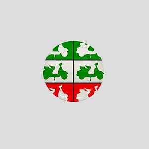 Italian Scooter Graphic Mini Button