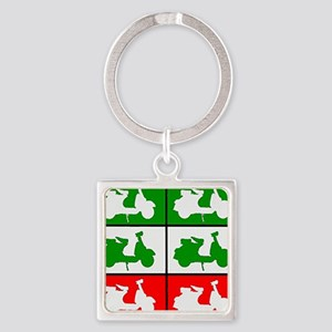 Italian Scooter Graphic Keychains