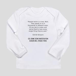 PEOPLE LEAVE US... Long Sleeve T-Shirt
