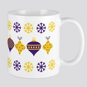 Purple And Gold Mugs