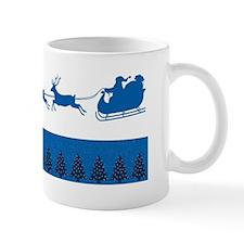 Blue Kentucky Christmas Mugs