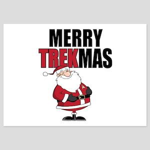 Merry TREKmas 5x7 Flat Cards