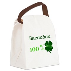 Personalize 100% Irish Canvas Lunch Bag