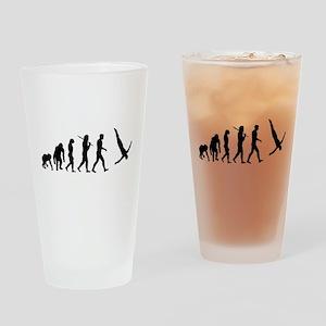 Diving Evolution Drinking Glass