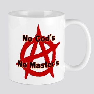 ANARCHY NO GODS NO MASTERS Mug