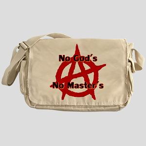 Anarchy No Gods No Masters Messenger Bag
