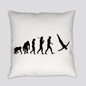 Diving Evolution Everyday Pillow