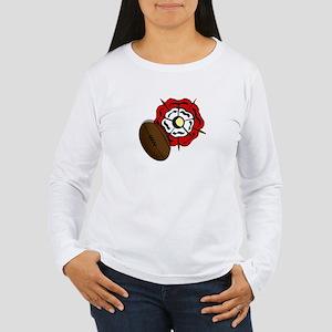England Rose Rugby Women's Long Sleeve T-Shirt