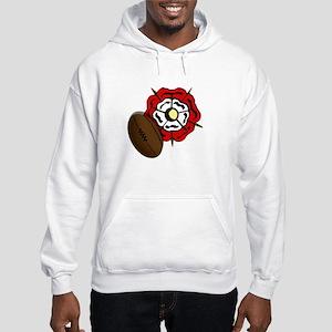 England Rose Rugby Hooded Sweatshirt