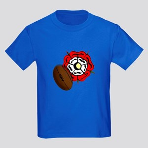 England Rose Rugby Kids Dark T-Shirt