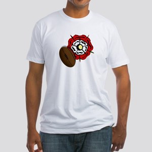 England Rose Rugby Fitted T-Shirt