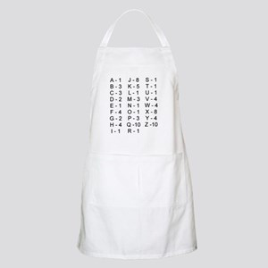 Scrabble Tile Points BBQ Apron