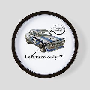 Escort Racer Wall Clock