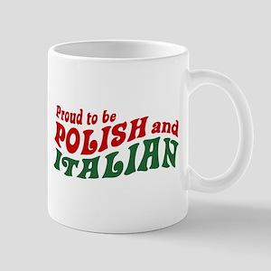 Proud Polish Italian Mug