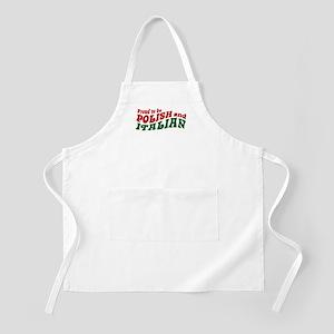 Proud Polish Italian BBQ Apron