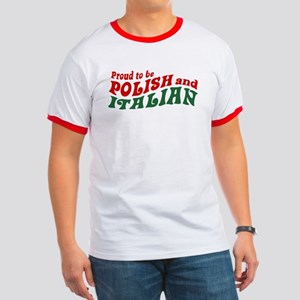 Proud Polish Italian Ringer T