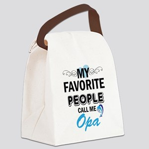 my fovorite people call me opa Canvas Lunch Bag